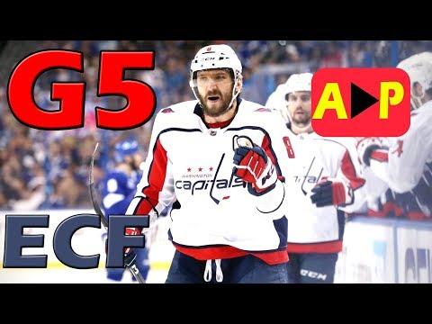 Washington Capitals vs Tampa Bay Lightning – May. 19, 2018 | Game 5 | Stanley Cup 2018. (HD)