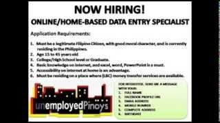 Online Work Homebase Data Entry Job