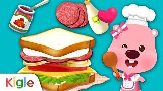 샌드위치 만들기!   뽀로로 요리놀이   24화   뽀…