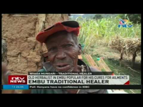 Embu traditional healer living in abject poverty despite treating the rich