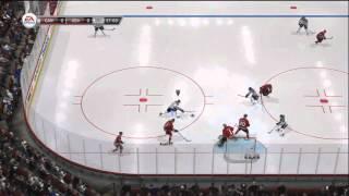 NHL 12 Online Gameplay: Team Canada (Kush77) vs. Team USA (fig731) Xbox 360