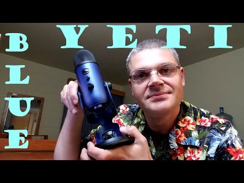 Blue Yeti Microphone Unboxing and Review
