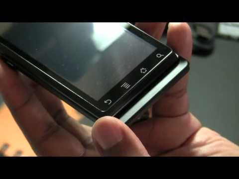 Motorola Milestone unboxing