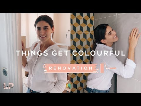 crazy-yellow-tiles-&-painting-our-bedroom:-renovation-vlog-|-lily-pebbles