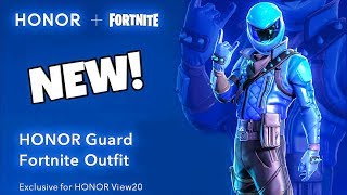 """NEW! EXCLUSIVE SKIN """"HONOR"""" - Fortnite Battle Royale"""