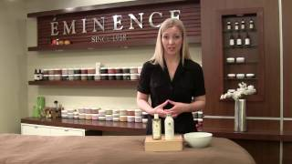 Mixology Monday - Stone Crop Gel Wash & Strawberry Rhubarb Dermafoliant Thumbnail