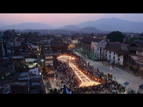 Nepal Vigil Honors Victims on Anniversary of Quake