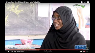 MEET AND GREET _ WITH AISHA KHAN | ONLY ON HORIZONTV