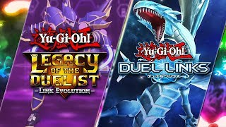 Duel Links / Yu-Gi-Oh! Legacy Of The Duelist Link Evolution