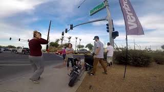 Crazy Motorcycle Accident that Turned into a huge BRAWL Against the POLICE!!!