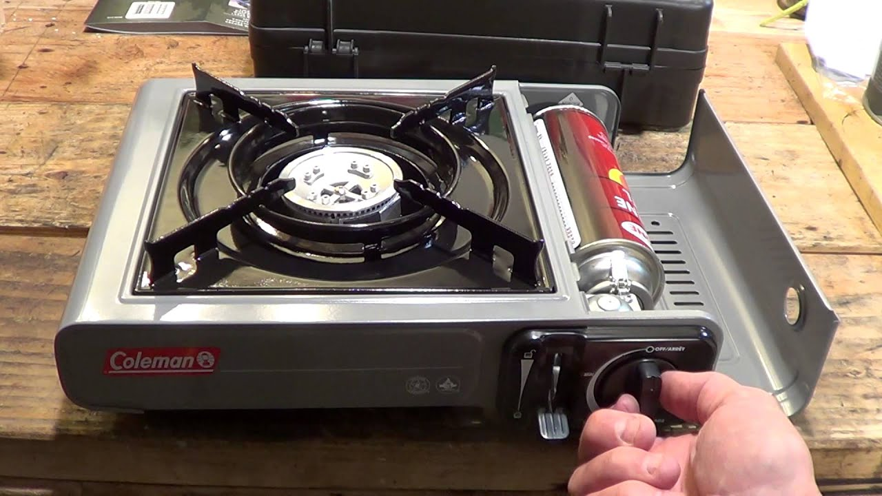 Unboxing A Coleman Butane Single Burner Stove