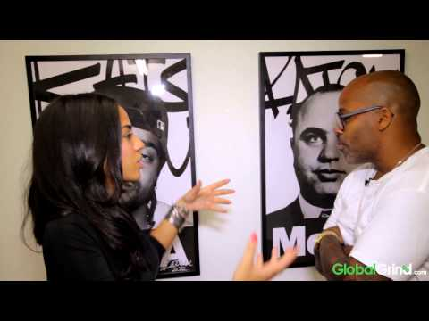 Sharon Carpenter Visits Damon Dash's NYC Gallery