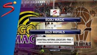 FINAL Game 1: Egoli Magic 56-57 Duzi Royals