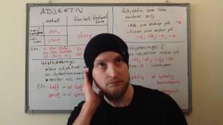 Урок 12: прилагательное норвежского языка (2017:2)