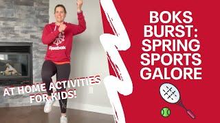 BOKS Burst: Spring Sports Galore!
