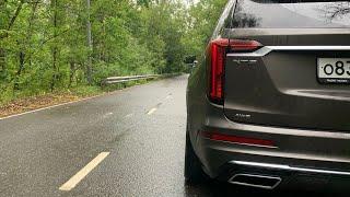 Cadillac XT6 - россияне любят помедленнее! Разгон 0 - 100