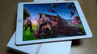 The FORTNITE Test Gaming on new ipad 2018 Gen 6th bad?