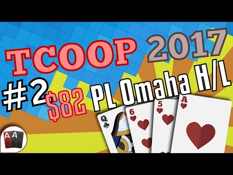 [TCOOP 2017] Event #02: $82 PL Omaha Hi/Lo Final Table replay (all cards face up) | Series Player