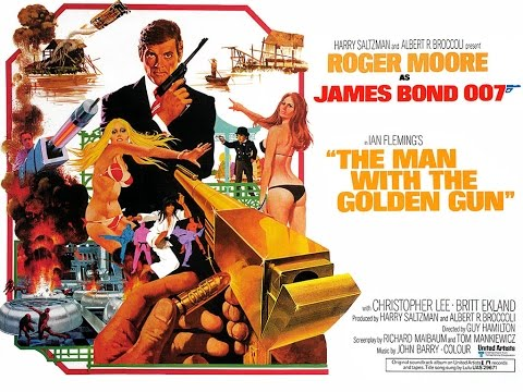 1974 - James Bond - The man with the golden gun: title sequence