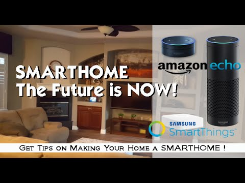 Create Your Smarthome: with Amazon Echo & SmartThings, The Future is NOW!