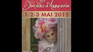 Les Costumés de Venise \u2013 le 23 et 24 avril 2016 aux Jardins d\u0027Annevoie