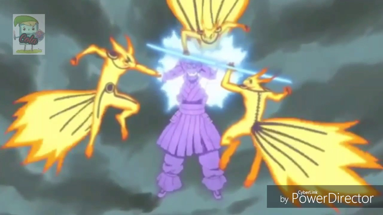 Naruto vs Sasuke Final Fight! (Kurama mode vs Perfect Susanoo)
