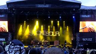 Stone Sour - Through Glass live Download Festival 2010