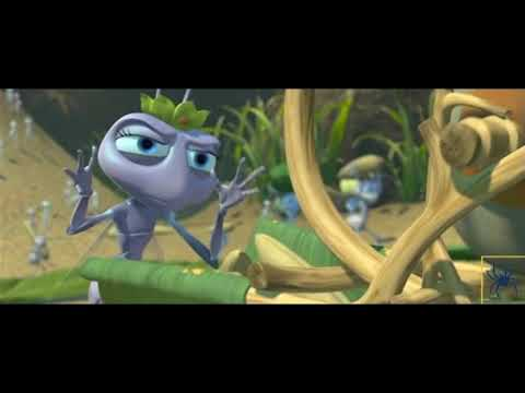 A Bug's Life- Flik Gets In Trouble For His Grain Harvester Invention Scene