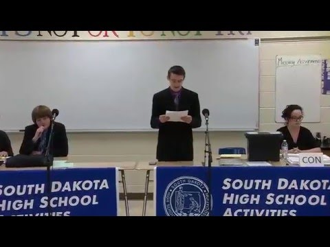 2016 AA Public Forum Debate