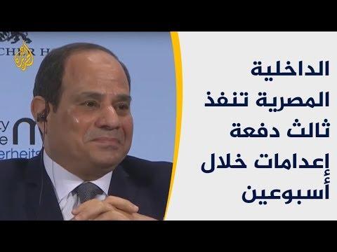 تحدث بميونيخ عن الإرهاب وعاد لمصر وواصل تعليق المشانق  - نشر قبل 7 ساعة