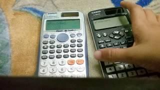 Casio fx 991EX vs 991 ES plus review and speed test