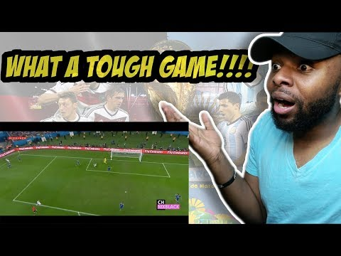 Germany 1-0 Argentina 2014 World Cup Final All Goals & Extended Highlight HD/720P Reaction