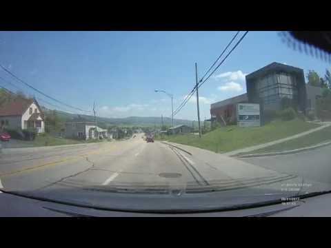 Time Lapse Drive - Ste Anne de Beaupre & the Quebec Coast