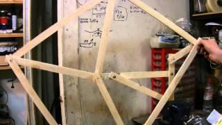 Механическая нога, деревянный прототип