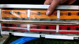 TOMY Plarail Tokyo Metro Ginza & Marunouchi (classic) unboxing review and first run thumbnail
