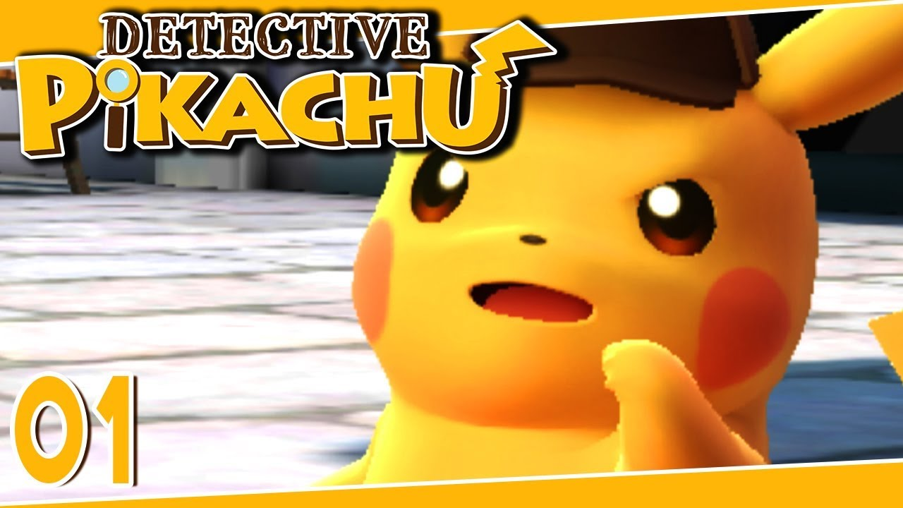 Detective Pikachu Part 1 The Missing Necklace Gameplay Walkthrough