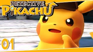 Detective Pikachu Part 1 THE MISSING NECKLACE Gameplay Walkthrough 3DS