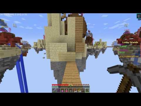 Minecraft- Lucky Islands- Me Encuentro A Un Hacker