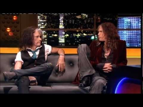 """Aerosmith"" Steven Tyler & Joe Perry"" The Jonathan Ross Show Series 3 Ep 10 20 October 2012 Part 4/5"