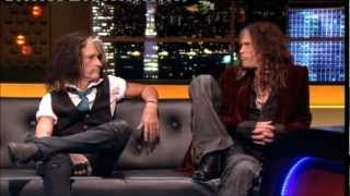 """Aerosmith"" Steven Tyler & Joe Perry"" The Jonathan Ross Show Series 3 Ep 10 20 October 2012 Part 4/5"