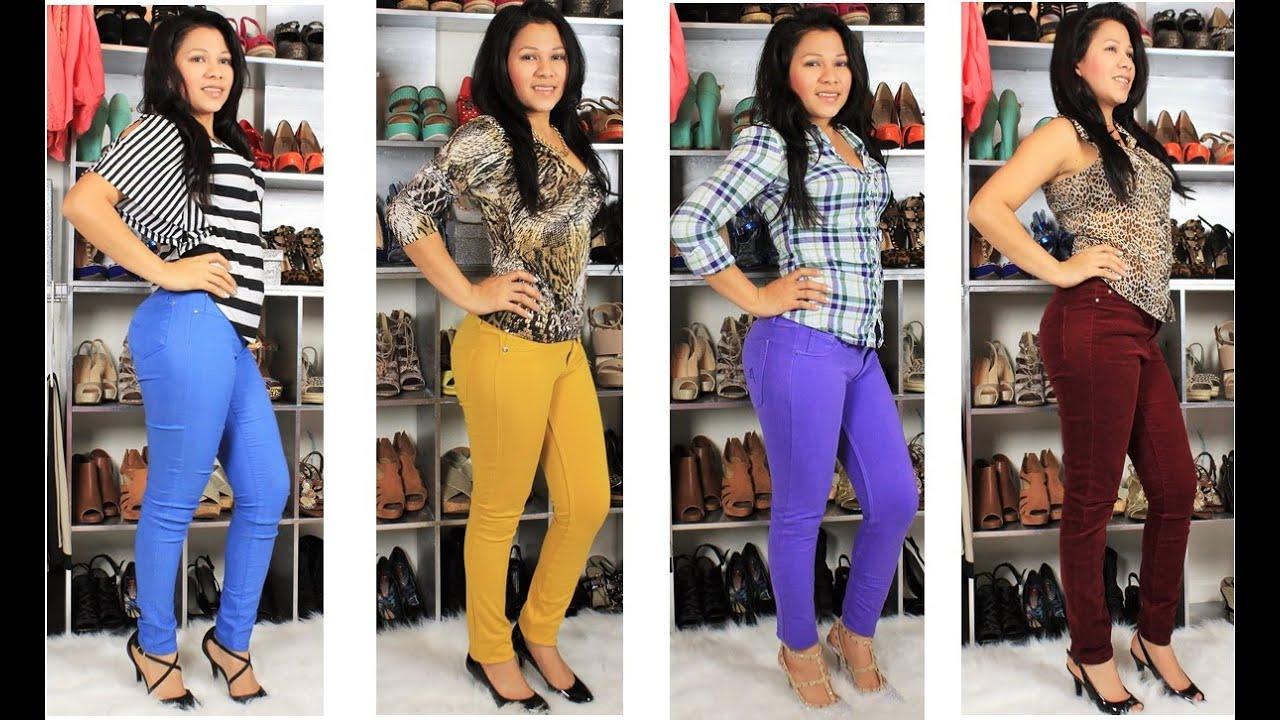 Como combinar pantalones de color como combinar - Colores para combinar ...
