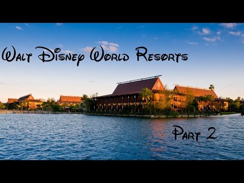 Les resorts de Walt Disney World Part 2 les Deluxe