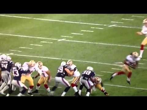 49ers dashin goldson fake punt run against patriots 2012