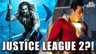 LEGION OF DOOM Members Confirmed for Justice League 2? (Shazam + Aquaman Easter Eggs) #SDCC2018