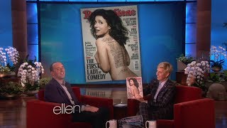 Tony Hale on Co-Star Julia Louis-Dreyfus on Ellen Show