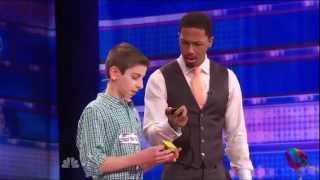 My Clip on America's Got Talent! Rami Sbahi - Rubik's Cube Audition
