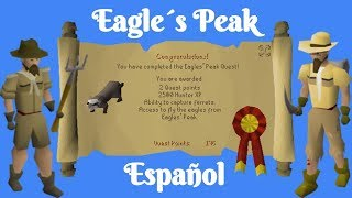Osrs Eagle S Peak Espanol Youtube Now go to the top of eagles' peak (if you have 25 agility, you can use the agility. osrs eagle s peak espanol youtube