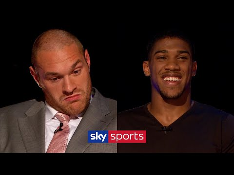Tyson Fury gives Anthony Joshua words of advice in classic 2013 The Gloves are Off!