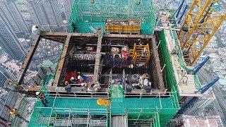 The Landmark 81| Trực tiếp cảnh thi công tại tầng 83 của siêu dự án nóc nhà Đông Dương | Vres TV