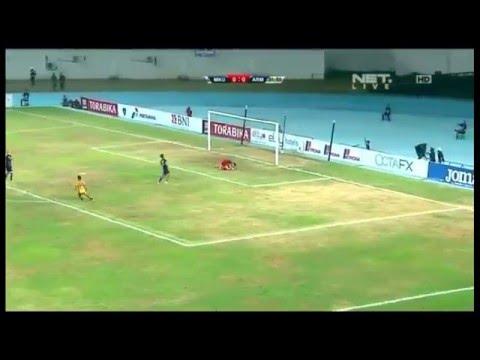Mitra Kukar 2 - 1 Arema Cronus Semi Final Piala Sudirman Leg 1 (09 Januari 2016)